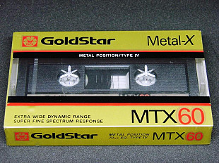 Кассета GoldStar MTX 60 METALL