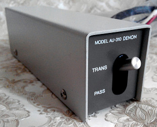 Denon AU-310 Step-Up Transformer (SUT) - трансформатор МС
