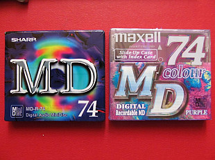 Mini Disk аудио Sharp, Maxell MD 74 (новый)