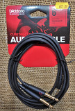 "D'ADDARIO PW-MPTS-06 Custom Series 1/8"" to Dual 1/4"" Audio Cable (1.8m)"
